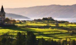в Словению